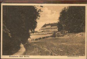 Bad Berka Hartmannhaus Kat. Bad Berka