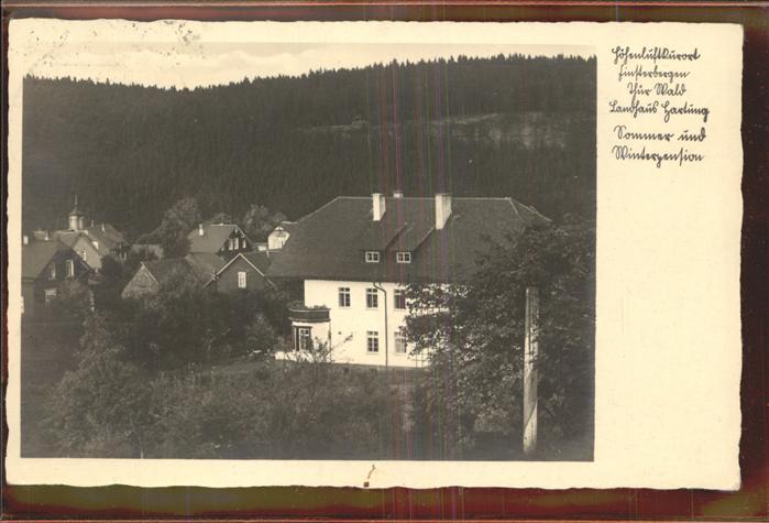 Finsterbergen Landhaus Hartung Kat. Finsterbergen