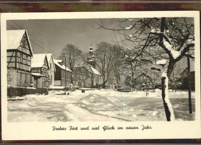 Friedrichroda im Winter Kat. Friedrichroda