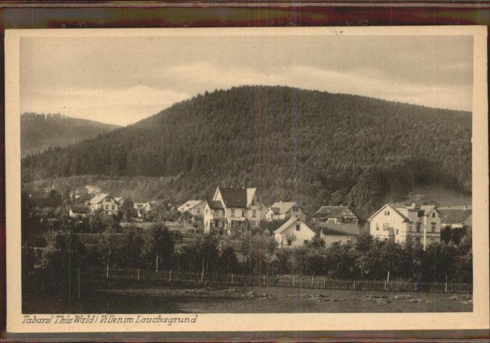 Tabarz Lauchagrund Kat. Tabarz Thueringer Wald