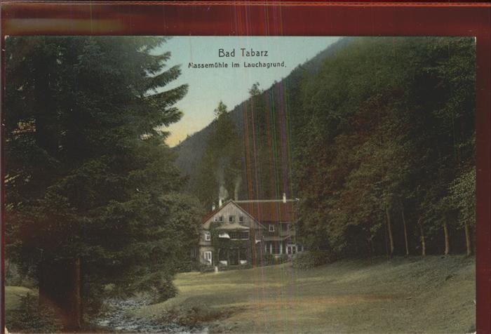 Tabarz Bad Tabarz Massemuehle Lauchagrund Kat. Tabarz Thueringer Wald