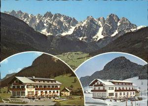 Gosau Oberoesterreich Gosauer Hof Alpenpanorama Dachsteingebirge