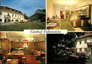 Schwarzau Gebirge Gasthof Falkenstein Kat. Schwarzau im Gebirge