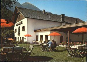 kk36257 Oetz Cafe Heiner Gartenrestaurant Kat. Oetz
