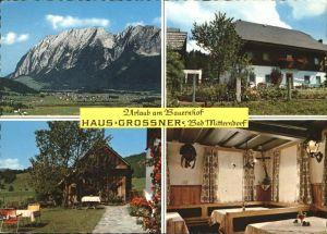Bad Mitterndorf Haus Grossner Urlaub auf dem Bauernhof Tauplitz Alpenstrasse