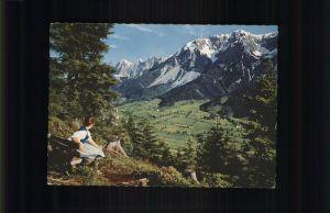 Ramsau Dachstein Steiermark Blick vom Kulmberg Kat. Ramsau am Dachstein