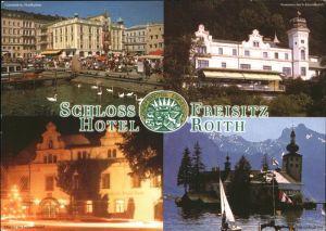 Gmunden Salzkammergut Schloss Hotel Freisitz Roith Teilansichten / Gmunden /Traunviertel