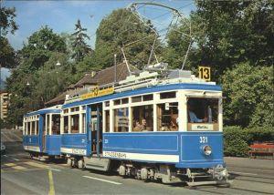 Strassenbahn Stadt Zuerich Motorwagen Ce 4 4 Nr. 321 Kat. Strassenbahn