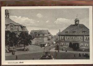 Waltershausen Gotha Markt Kat. Waltershausen