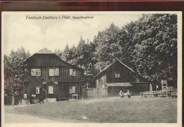 Tambach Dietharz Nesselberghaus Kat. Tambach Dietharz