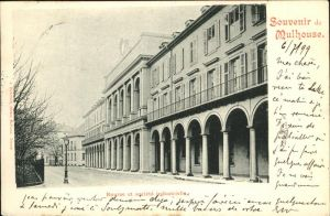 hw14966 Mulhouse Muehlhausen Bourse  Societe industrielle Kategorie. Mulhouse Alte Ansichtskarten