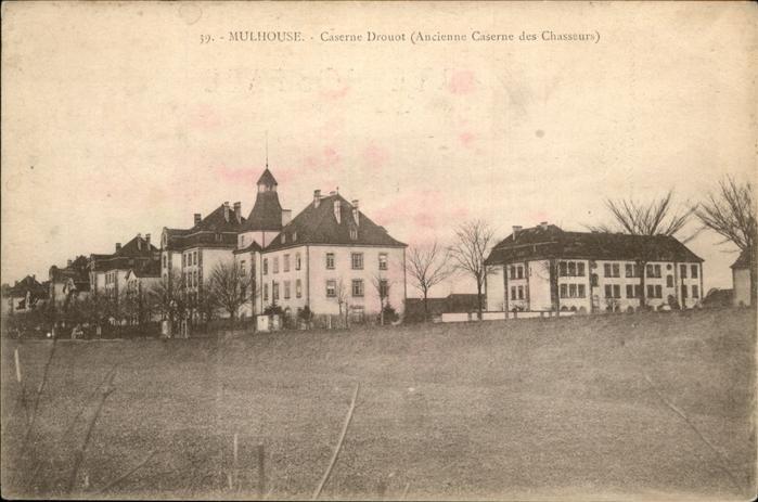 hw16628 Mulhouse Muehlhausen Caserne Drouot Kategorie. Mulhouse Alte Ansichtskarten