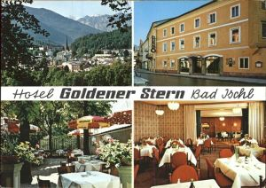 Bad Ischl Salzkammergut Hotel Goldener Stern Gartenrestaurant Alpenblick Kat. Bad Ischl