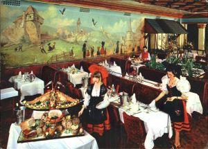 Paris Restaurant Chez Hansi Grande Brasserie Alsacienne Montparnasse Gemaelde Kat. Paris
