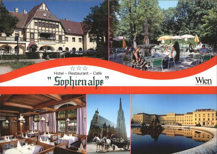 Cafe Sophienalpe In Wien