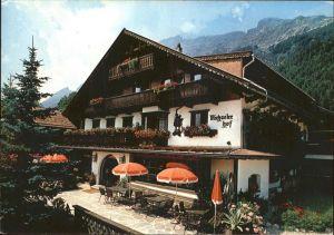 Gnadenwald Gasthaus Restaurant Michaelerhof Kat. Gnadenwald