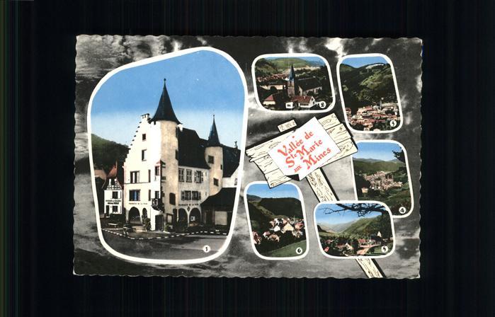 Sainte Marie aux Mines Haut Rhin Echery Sainte Croiy aux Mines Kat. Sainte Marie aux Mines Alsace