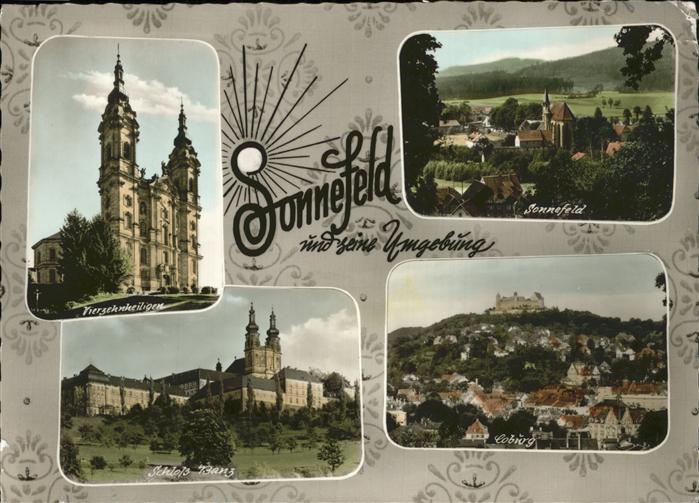 Sonnefeld Schloss Banz Coburg  Kat. Sonnefeld
