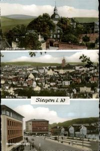 Siegen Westfalen Haeusling Oberes Schloss Bahnhofsvorplatz / Siegen /Siegen-Wittgenstein LKR