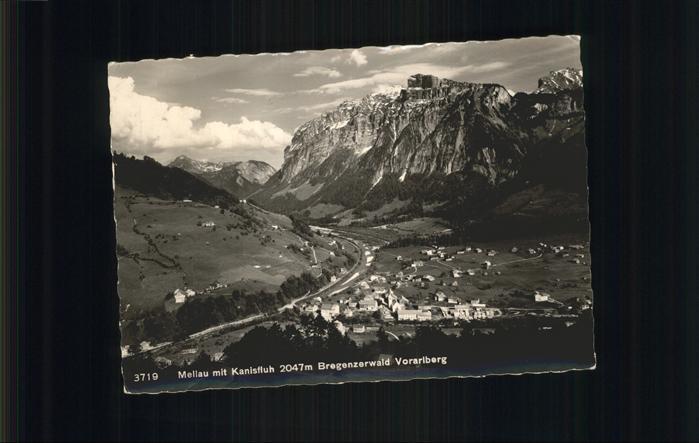 Mellau Vorarlberg Bregenzerwald Vorarlberg Kat. Mellau