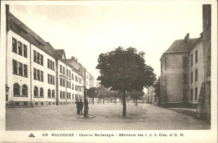 wb14085 Mulhouse Muehlhausen Mulhouse Caserne Barbanegre Batiment * Kategorie. Mulhouse Alte Ansichtskarten