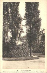 Mulhouse Muehlhausen Monument Travail / Mulhouse /Arrond. de Mulhouse