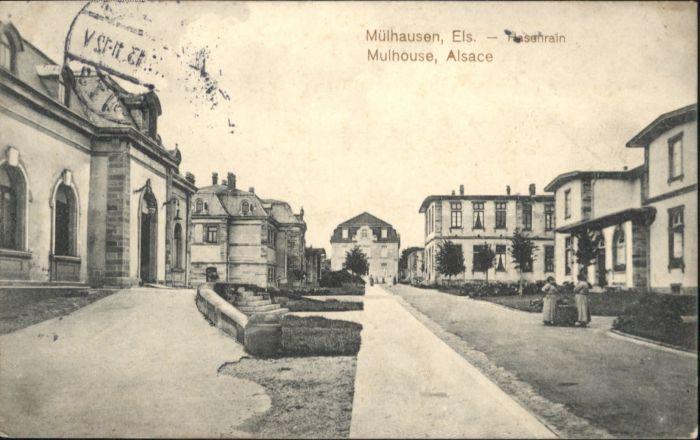 ww80669 Mulhouse Muehlhausen Mulhouse Alsace Hasenrain x Kategorie. Mulhouse Alte Ansichtskarten