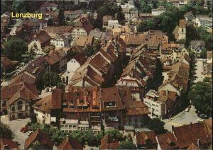 Lenzburg Blick vom Schloss Altstadt Kat. Lenzburg