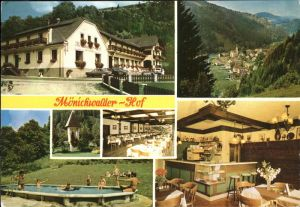 Moenichwald Gasthof Pension Moenichwalder Hof Swimming Pool Kat. Moenichwald
