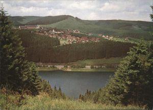 Schulenberg Oberharz Blick auf Familienerholungsheim der Bundesbahn Kat. Schulenberg im Oberharz