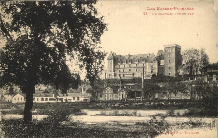 Toulouse Haute-Garonne Les Basses-Pyrenees le Chateau  / Toulouse /Arrond. de Toulouse