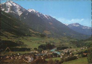 Schwarzach Pongau Ortsblick mit Alpenpanorama Kat. Schwarzach im Pongau