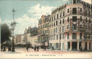 wb05298 Toulouse Haute-Garonne Toulouse Boulevard * Kategorie. Toulouse Alte Ansichtskarten