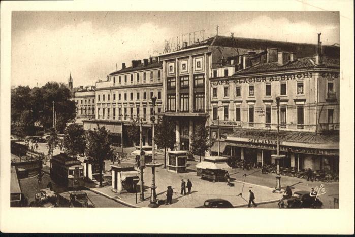 wb05444 Toulouse Haute-Garonne Toulouse Avenue Carrefour Jean-Jaures Theatre des Varietes * Kategorie. Toulouse Alte Ansichtskarten