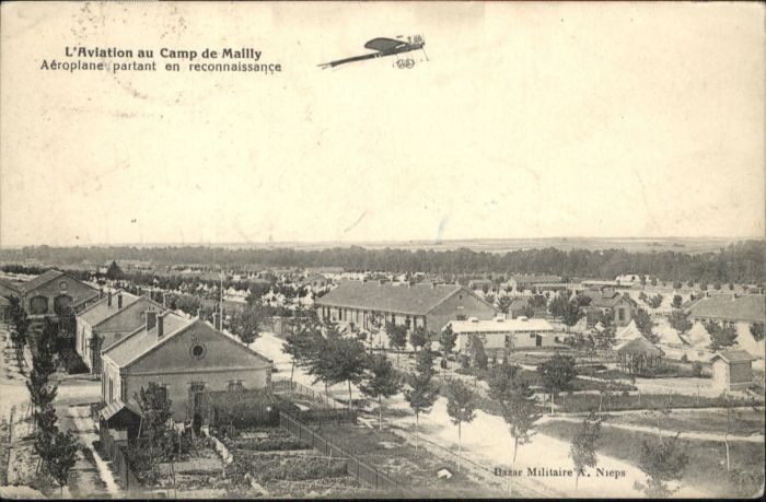 Mailly-le-Camp Aeroplane x