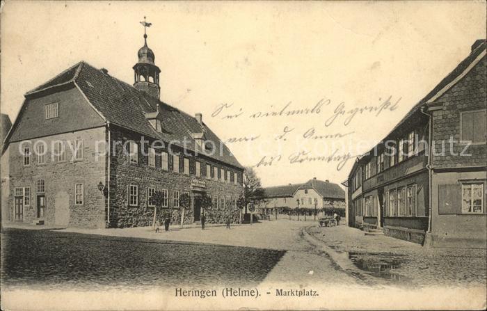 Heringen Helme Marktplatz Kat. Heringen Helme