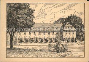Weimar Thueringen Haus Frau von Stein Kuenstlerkarte / Weimar /Weimar Stadtkreis