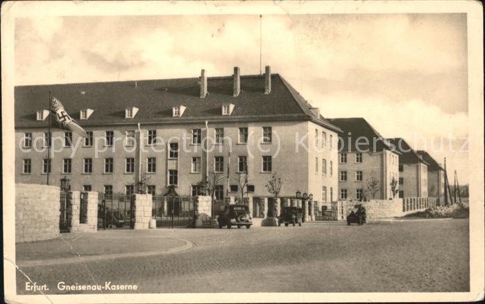 Erfurt Gneisenau Kaserne Kat. Erfurt