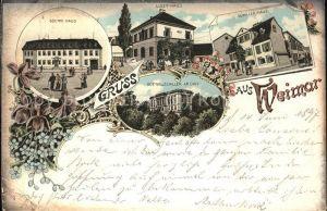 Weimar Thueringen Schiller-Haus Liszt-Haus Goethe-Haus Archiv / Weimar /Weimar Stadtkreis