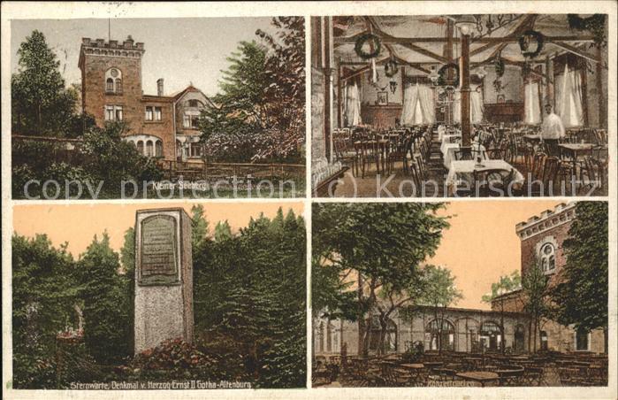 Gotha Thueringen Kleinen Seeberg Denkmal Herzog Ernst Altenurg / Gotha /Gotha LKR