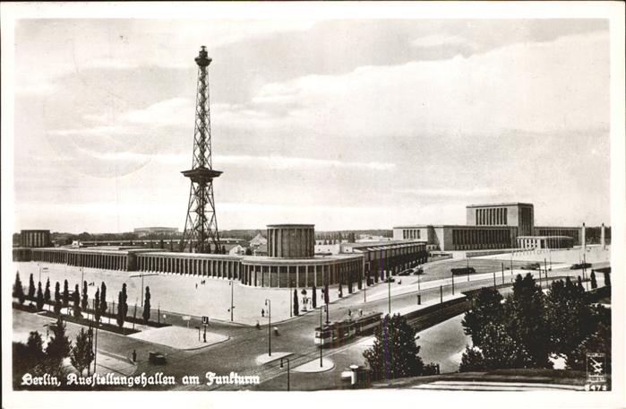 Berlin Ausstellungshallen am Funkturm Kat. Berlin
