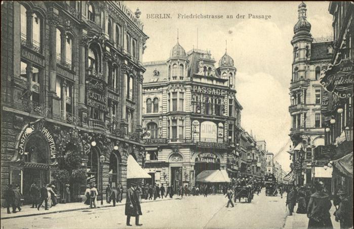 Berlin Friedrichstrasse an der Passage Kat. Berlin