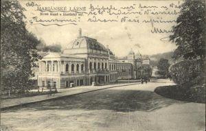 Marienbad Tschechien Neubad und Cursaal Boehmen Nove lazne a lazensky sal Kat. Marianske Lazne