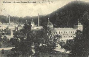 Marienbad Tschechien Neubad Kursaal Zentralbad Boehmen Kat. Marianske Lazne