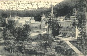Marienbad Tschechien Kursaal und Neubad Boehmen Kat. Marianske Lazne
