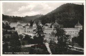 Marienbad Tschechien Kursaal und Neubad Park Boehmen Kat. Marianske Lazne