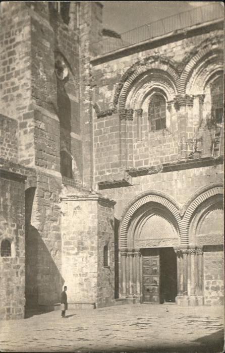 Jerusalem Yerushalayim Jerusalem [handschriftlich] * / Israel /