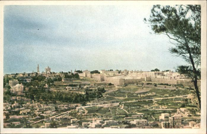 Jerusalem Yerushalayim Jerusalem  * / Israel /