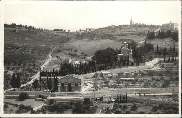 Jerusalem Yerushalayim Jerusalem [?] * / Israel /