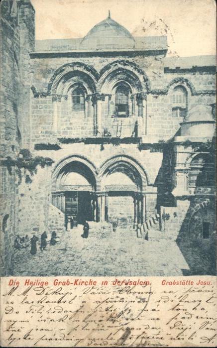 Jerusalem Yerushalayim Heilige Grab Kirche  / Israel /